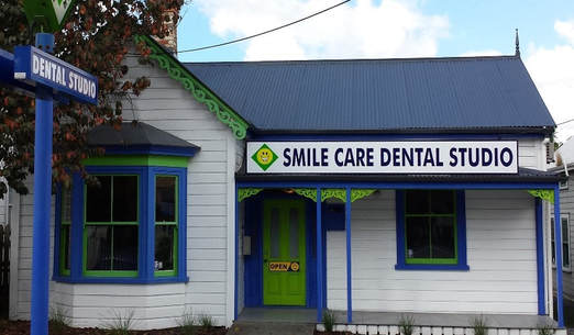 Front of Smile Care Dental Studio. Dentists Whangarei