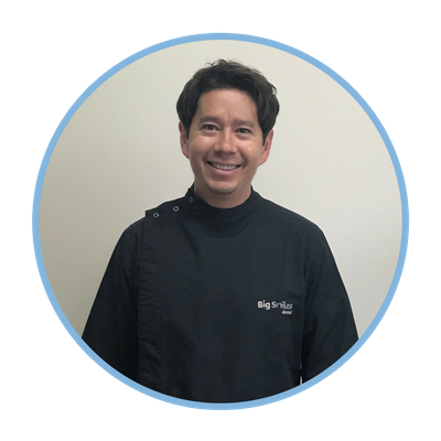 Dr Aidan Ho of Smile Care Dental Studio. Dentists Whangarei